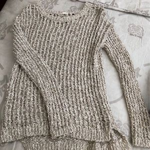 New garage knit sweater